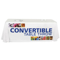 Convertible Premium Table Throw Dye-Sub 6'