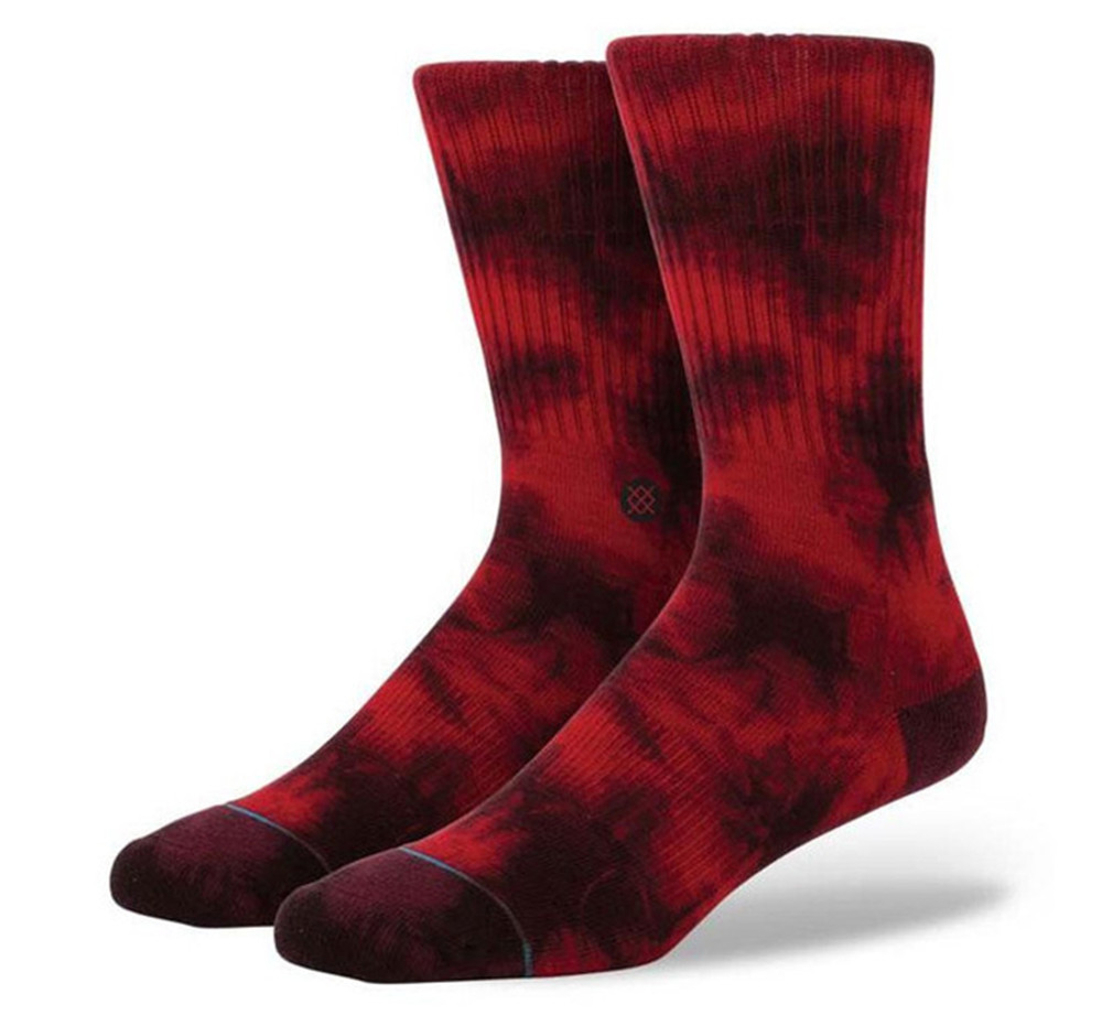 Stance Athletic Burnout Wine Socks