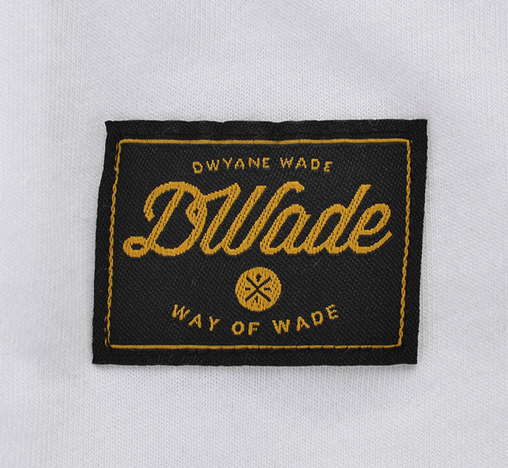 DWADE Lifestyle Tee AHSM209-1 White