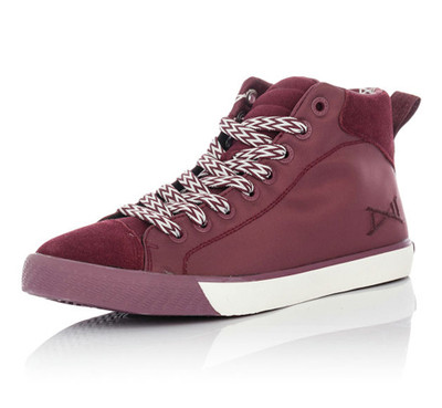 Wade Legend 84 Basketball Sneaker Wine Red