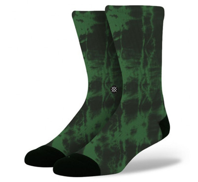 Stance Athletic Burnout Green Socks