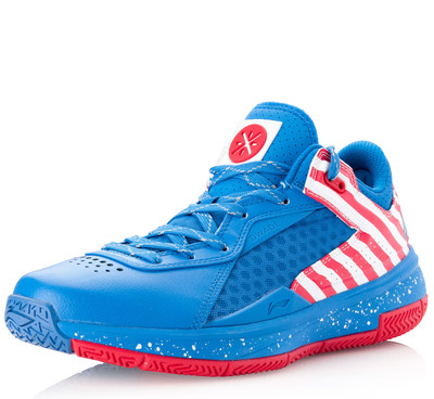 Wade 808 Low Blue/Red/White