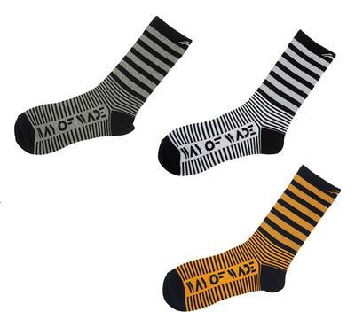 Wade Stripe Crew Socks AWLL007