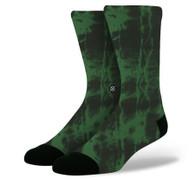 Stance Athletic Burnout Green Socks