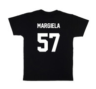 LES (ART)ISTS Black MARGIELA57 Football Tee