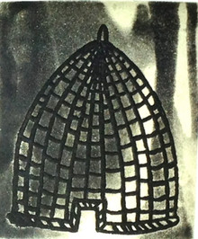 Jack Hanley, Bee Hive, aquatint and etching