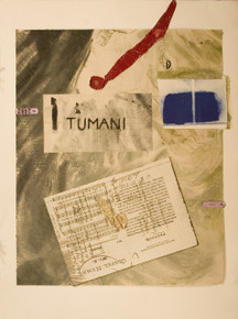 Swahili, Hope Suite, 2009,monotype, collage, mixed media, 18 x 24 in., archival carbon print avail.