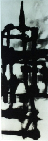 "Calaway, John, Amsterdam III, 2000, polymer gravure, 9 x 17 in. Arches Cover White, signed lower rt. margin ""Calaway"""