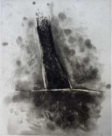 Scholder, Lawrence, untitled, 1992, spit-bite aquatint, drypoint engraving