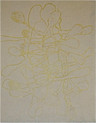 Scholder, Lawrence, untitled '99, 1999, intaglio relief chine collé
