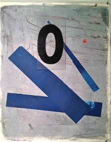 Smith, Mark L., Fifty, 2014, collage, 30 x 22 on Indian paper