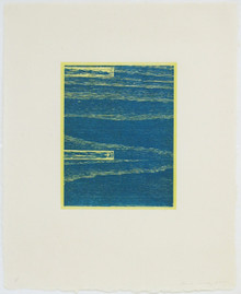 Conner, Ann, Logs 6, 2001, color woodcut, 20.5 x 16.5 in.