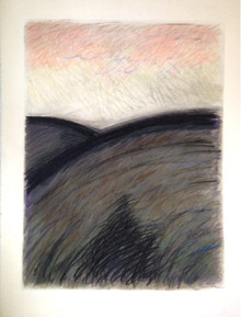 Smith, Mark L., Twilight Icon I, 1985, pastel, 30 x 22 in.