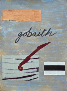 Smith, Mark L., Welsh, Hope Suite, 2014, monotype, collage, mixed media, 24 x 18 in., archival carbon print avail.