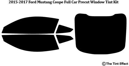 Full Car Precut Window Tint Kit Premium Film Fits 2005-2014 Ford Mustang Coupe