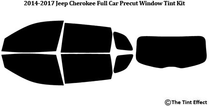 JEEP CHEROKEE 09 PRE CUT TINT FILM REPLACEMENT BACK WINDOW