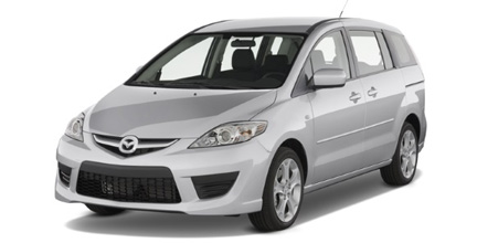 Visor Only Automotive Window Film Fits 2006-2010 Mazda 5 Precut Window Tint