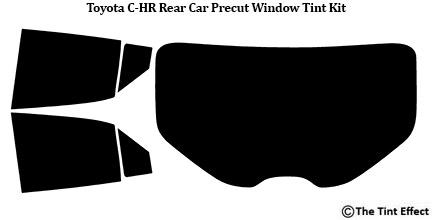 Full Car Fits 2018-2019 Toyota C-HR Precut Window Tint Kit Automotive Film Diy