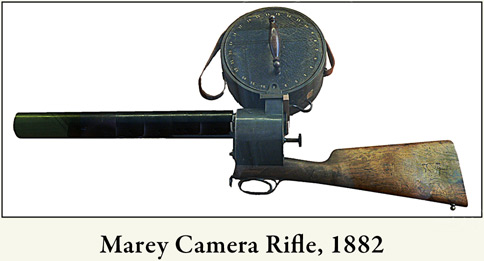 photo of Marey's camera rifle