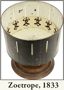 photo of a zoetrope