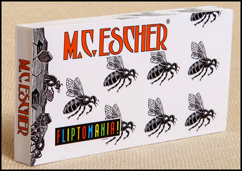 Fliptomania M.C. Escher Flipbook.  Amazing animation.