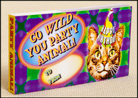 Go Wild You Party Animal Flip book.  Wacky morphing of animal images into a birthday card.