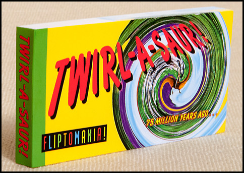 Twirl-A-Saur! Flipbook Cover