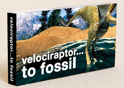 Raptor in a Tar Pit! Flipbook Cover