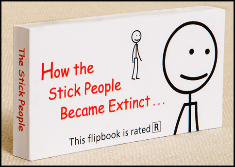 How the Stick People Became Extinct Flipbook Cover