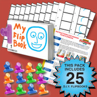Blank Flipbook Activity Pack - 25 Sets