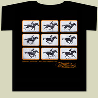 Muybridge Galloping Horse T-Shirt