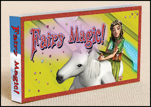 Fairy Magic Flipbook Cover