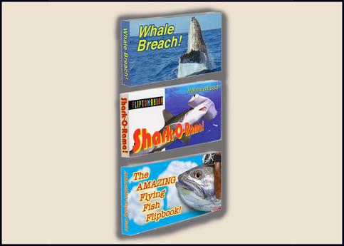 Ocean Life Flipbook 3-Pack