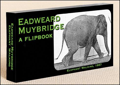 Fliptomania Muybridge Elephant  Walking Flipbook