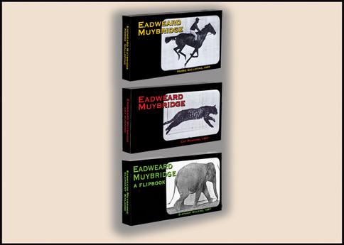 Fliptomania Muybridge Animal Flipbook 3-Pack