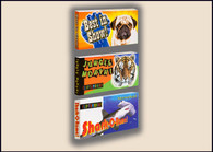 Fliptomania Wild and Wacky Animal Flipbooks 3-Pack