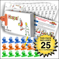 Basketball Flipbook Activity Pack - 25 Sets