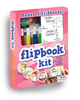 Fliptomania Art Flipbook Kit