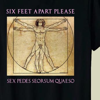 Fliptomania Six Feet Apart Please T-Shirt