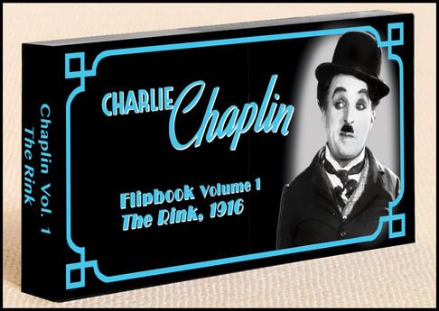 Fliptomania Charlie Chaplin Flipbook: The Rink
