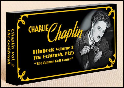 Fliptomania Charlie Chaplin Flipbook: The Gold Rush