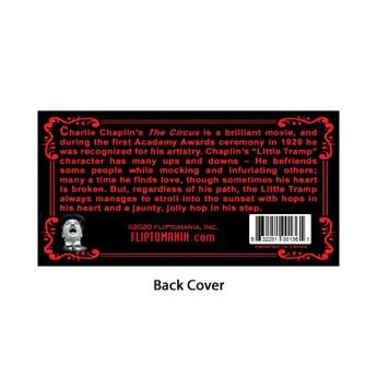 Fliptomania Charlie Chaplin Flipbook: The Circus (back cover)