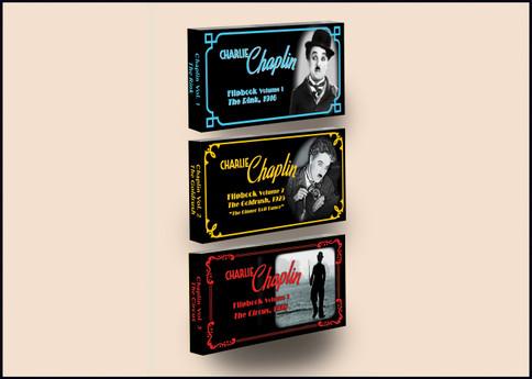 Fliptomania Charlie Chaplin Flipbook 3-Pack: The Circus, The Gold Rush, The Rink