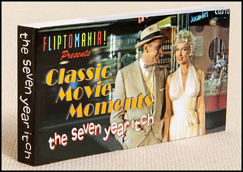 Fliptomania Marilyn Monroe Flipbook | Seven Year Itch | Marilyn Skirt