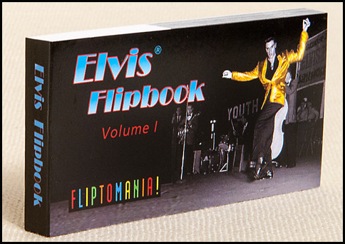 Elvis Presley Flipbook, Volume 1 | Elvis Dancing