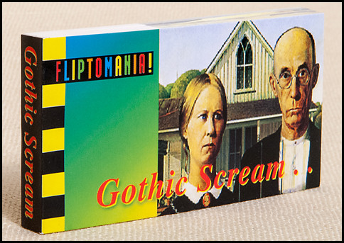 Gothic Scream Flipbook Cover