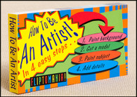 How to be an Artist! flip book shows how to quickly create Botticelli's Birth of Venus. Great inexpensive gift for that budding artist!