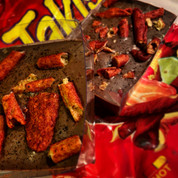 Habanero lime snack orange chocolate bark box