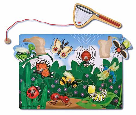 Bug Catching Magnetic Puzzle Game