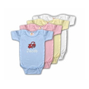 Personalized Baby Onesies in Multiple Colors
